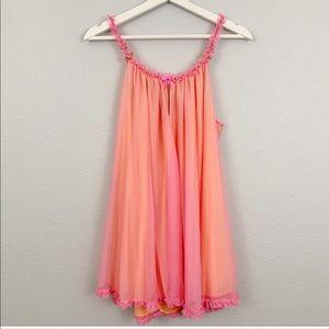 Betsey Johnson babydoll slip nightgown